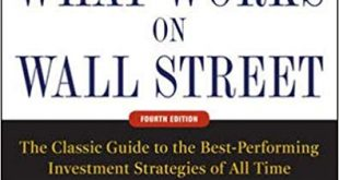 What Works on Wall Street
